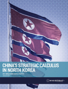 Wikistrat - China's Strategic Calculus in North Korea report